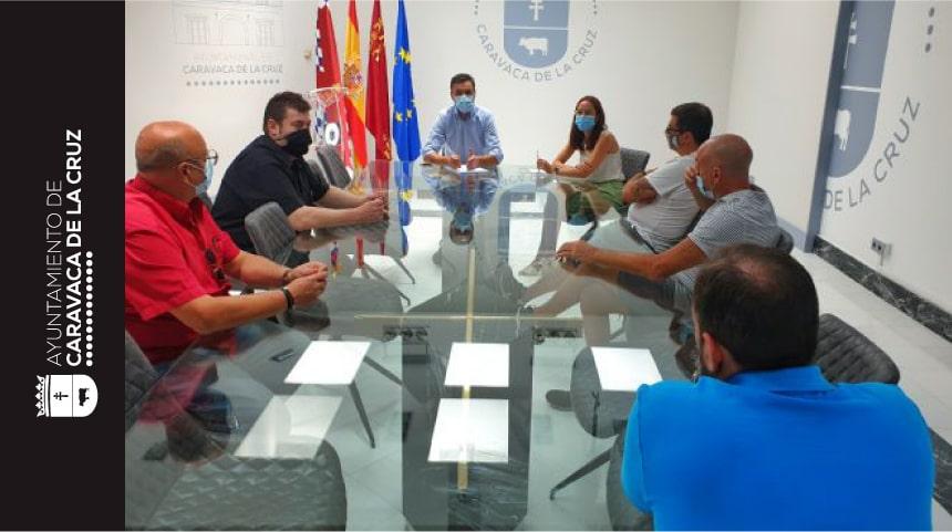 El Ayuntamiento de Caravaca se reúne con representantes de la hostelería para valorar la situación y coordinar los últimos cambios que afectan a su actividad